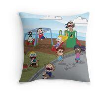 The Playground Throw Pillow
