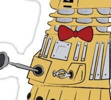 Daleks are cool Sticker