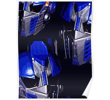 Optimus Prime Masks Poster