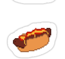 Pixel Junk Food Stickers 1 Sticker
