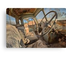 Abandoned Truck Canvas Print