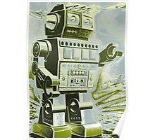 Robot Pop Art Poster