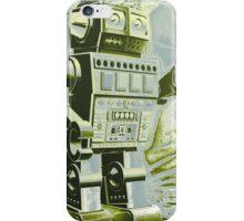 Robot Pop Art iPhone Case/Skin