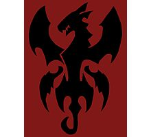 Fire Dragon King Power - Fairy Tail Photographic Print
