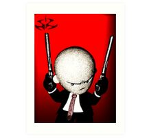 Agent 47 - Hitman Art Print
