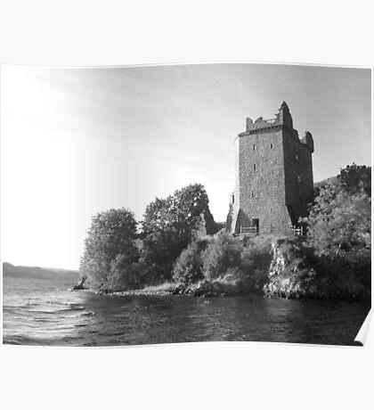Urquhart Castle Loch Ness Poster