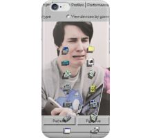 Dan Howell Windows95 Crying iPhone Case/Skin