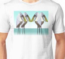 Spoonbill gathering Unisex T-Shirt