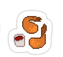 Pixel Junk Food Stickers 4 Sticker