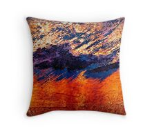 Dakota Hills and Summer Storms Throw Pillow