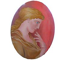 Cameo Classical Greek Photographic Print
