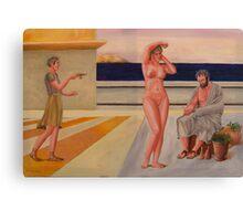 Nude Classical Greek Canvas Print