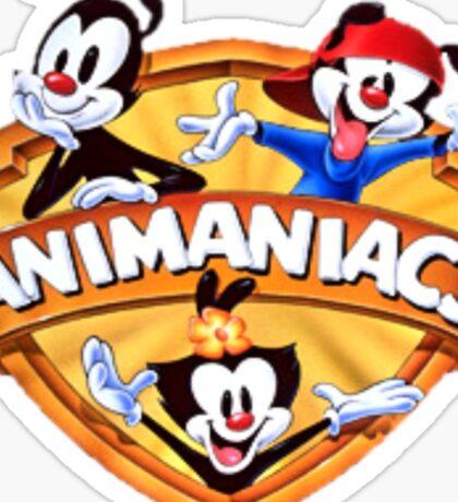 animaniacs logo Sticker
