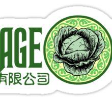 Cabbage Corp. Sticker