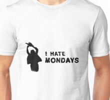 Serial Killer I hate mondays Unisex T-Shirt