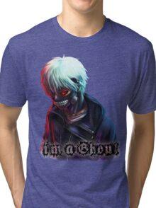 Ken Kaneki Tokyo Ghoul Tri-blend T-Shirt