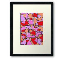 PLAYFUL SURFACES Framed Print