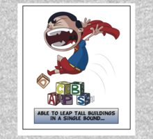 Look its a Bird! - Leaping tall buildings One Piece - Short Sleeve