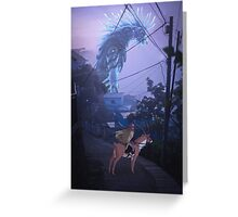 the journey to the west  Greeting Card