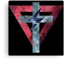 Lady Gaga Symbols Canvas Print