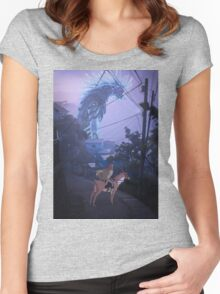 the journey to the west  Women's Fitted Scoop T-Shirt