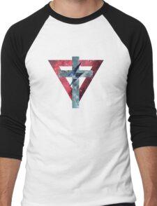 Lady Gaga Symbols Men's Baseball ¾ T-Shirt