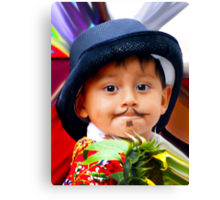 Cuenca Kids 305 Canvas Print