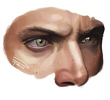 Jensen's eyes by Ree-sah