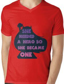 Star Butterfly Mens V-Neck T-Shirt