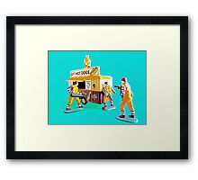 McMafia in action! Framed Print
