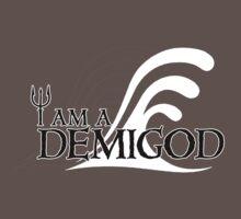 I Am A Demigod Baby Tee