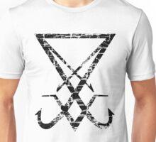 THE SIGIL OF LUCIFER - destroyed black Unisex T-Shirt