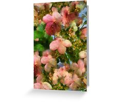 Rococo Blossoms Greeting Card