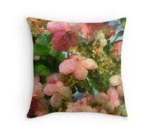 Rococo Blossoms Throw Pillow