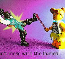 Don't mess with the fairies! by Tim Constable
