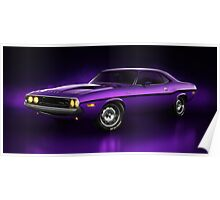Dodge Challenger Hemi - Shadow Poster
