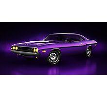 Dodge Challenger Hemi - Shadow Photographic Print