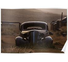 Bodie's 1937 Chevrolet in the Rain Poster