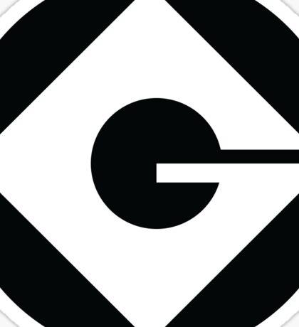 Gru Logo (Despicable Me) Sticker