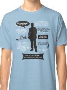 Stargate SG-1 - Jack quotes (B/W design) Classic T-Shirt