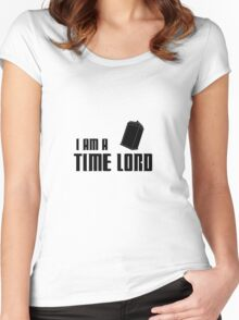 I Am A Time Lord Women's Fitted Scoop T-Shirt