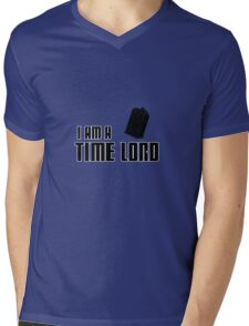I Am A Time Lord Mens V-Neck T-Shirt