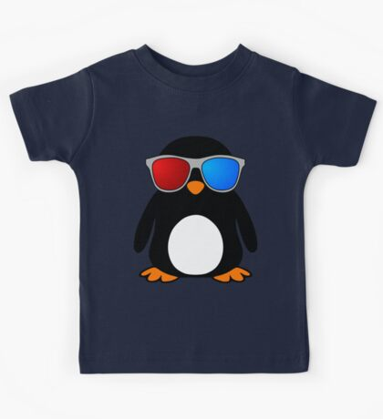 Swaggy Penguin Kids Tee