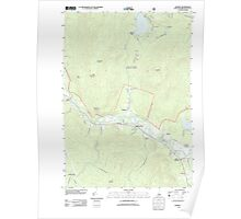 USGS TOPO Map New Hampshire NH Rumney 20120508 TM Poster