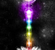 Sacred Chakras Sacred Lotus by DreamTimeDesign