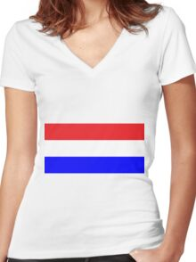 Champion of Britain Women's Fitted V-Neck T-Shirt