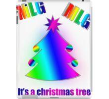 MLG | Christmas | Tree iPad Case/Skin