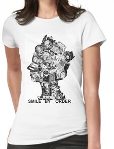 Smile By Order. Womens Fitted T-Shirt
