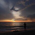 colors of a sunset - colores de una puesta del sol by Bernhard Matejka