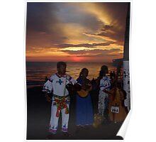 colors of a sunset II - colores de una puesta del sol Poster